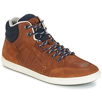 Zapatos Hombre Zapatillas altas Kickers CRAFFITI Camel