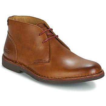 Zapatos Hombre Botas de caña baja Kickers MISTIC Camel