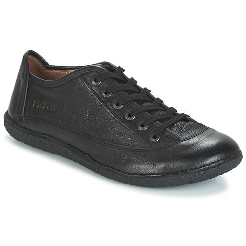 Zapatos Mujer Kickers Derbie Negro Hollyday wnkO0P