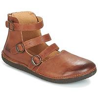 Zapatos Mujer Bailarinas-manoletinas Kickers HONORINE Camel