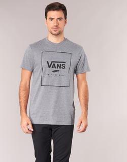 textil Hombre camisetas manga corta Vans PRINT BOX Gris