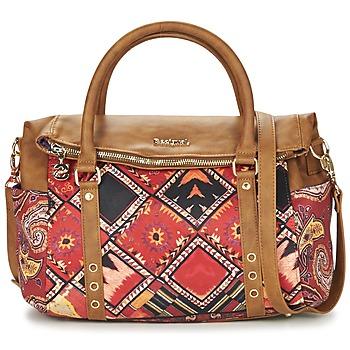 Bolsos Mujer Bolso Desigual BOLS_LOVERTY  BOHO Camel / Multicolor