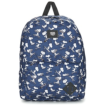 Bolsos Mochila Vans OLD SKOOL II BACKPACK Azul / Blanco