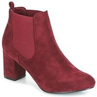 Zapatos Mujer Botines Spot on MANIA Burdeo
