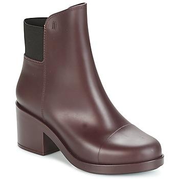 Zapatos Mujer Botines Melissa ELASTIC BOOTS Burdeo