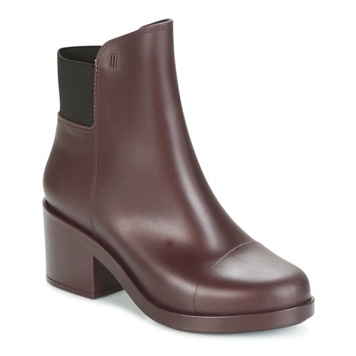 Descuento de la marca Zapatos especiales Melissa ELASTIC BOOTS Burdeo
