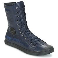 Zapatos Mujer Botas de caña baja Pataugas BASIC Marino