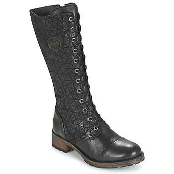 Zapatos Mujer Botas urbanas Pataugas DOLCE Negro