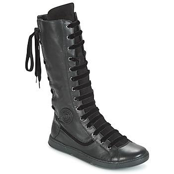 Zapatos Mujer Botas urbanas Pataugas JINA Negro