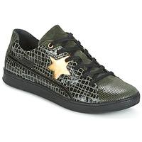 Zapatos Mujer Zapatillas bajas Pataugas JOIA Verde / Gris