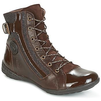 Zapatos Mujer Zapatillas altas Pataugas NOUR Marrón