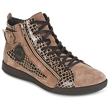 Zapatos Mujer Zapatillas altas Pataugas PALME Beige