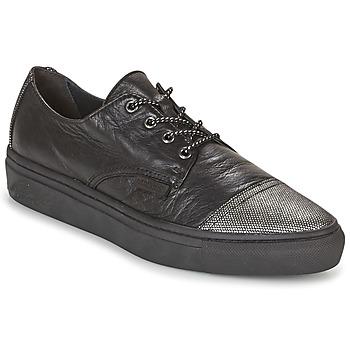 Zapatos Mujer Zapatillas bajas Pataugas YAK Negro / Plateado