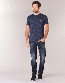 textil Hombre vaqueros slim Le Temps des Cerises 711 Azul / Medium