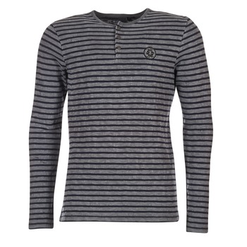 textil Hombre Camisetas manga larga Le Temps des Cerises ROGER Gris