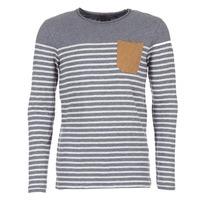 textil Hombre Camisetas manga larga Le Temps des Cerises VINCENT Gris