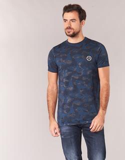 textil Hombre camisetas manga corta Le Temps des Cerises CAMOSTORK Marino