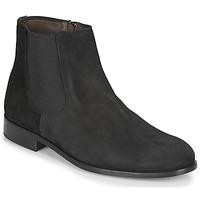 Zapatos Hombre Botas de caña baja So Size HUPA Negro