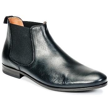 Zapatos Hombre Botas de caña baja Brett & Sons GENOVA Negro