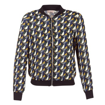textil Mujer cazadoras Moony Mood HARIO Negro / Azul / Amarillo