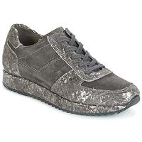 Zapatos Mujer Zapatillas bajas Perlato TINA Gris