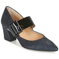 Zapatos Mujer Zapatos de tacón Perlato JESSY Azul / Negro