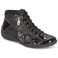 Zapatos Mujer Zapatillas altas Remonte Dorndorf DORA Negro