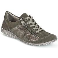Zapatos Mujer Zapatillas bajas Remonte Dorndorf POLINE Gris / Nacrée