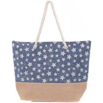 Bolsos Mujer Bolso shopping Mora Mora Sac ALLSTARS Bleu Azul