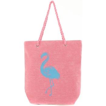 Bolsos Mujer Bolso shopping Mora Mora Sac Flamingo Rose Rosa