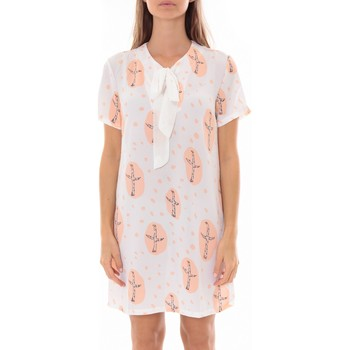 textil Mujer Vestidos cortos By La Vitrine Robe Tunique Blanc 4283-583 Blanco