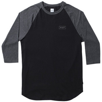 textil Camisetas manga larga Huf Camiseta  Reflective Raglan Black Grey multicolor