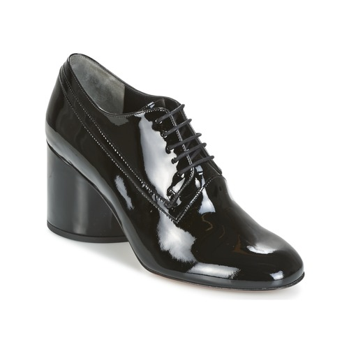 Zapatos casuales salvajes Zapatos especiales Robert Clergerie KIKI-VERNI-NOIR Negro
