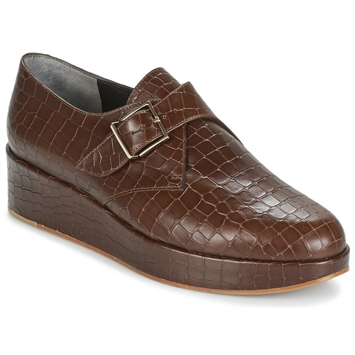 Zapatos Mujer Derbie Robert Clergerie NONKA-V.COCCO-CHOCOLAT Marrón
