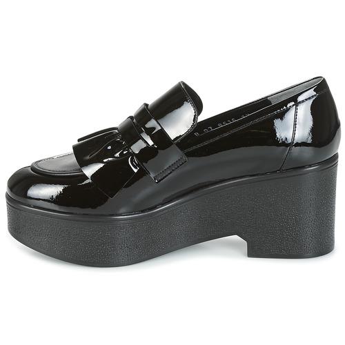 Zapatos Mocasín Robert noir Mujer Clergerie Negro verni Xock dCxeorB