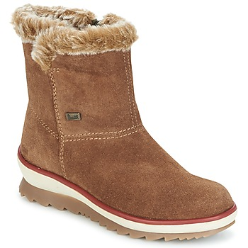 Zapatos Mujer Botas de caña baja Rieker BATIA Camel