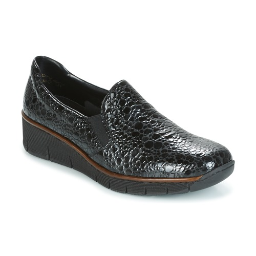 Slip Mujer Lloyd Negro On Rieker Zapatos WCoexBdr