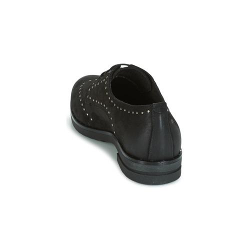 Zapatos Derbie Green Mujer Negro In Dream Hanfa kOuPZXi