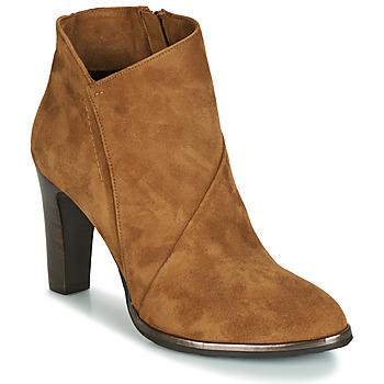 Zapatos Mujer Botines Myma PELOUR Cognac