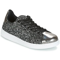 Zapatos Mujer Zapatillas bajas Yurban HELVINE Gris / Glitter