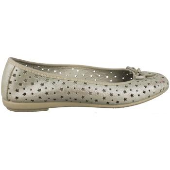 Zapatos Mujer Bailarinas-manoletinas Vulladi SERRAJE BAILARINA ESTRELLAS BEIGE