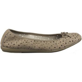Zapatos Mujer Bailarinas-manoletinas Vulladi SERRAJE ESTRELLAS GRIS