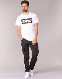 textil Hombre Pantalón cargo G-Star Raw ROVIC ZIP 3D TAPERED Cuervo