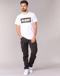 textil Hombre Pantalón cargo G-Star Raw ROVIC ZIP 3D TAPERED Cuervo