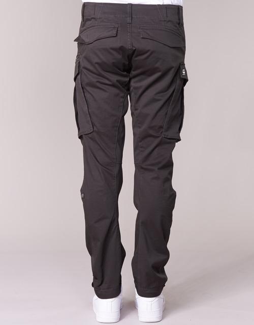 G Cargo Pantalón star Tapered 3d Raw Cuervo Hombre Rovic Zip Textil QdhCxtrs
