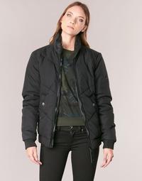 textil Mujer cazadoras G-Star Raw STRETT CHEVRON JKT Negro