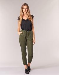 textil Mujer Pantalones fluidos G-Star Raw BRONSON SPORT WMN Kaki