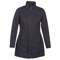 textil Mujer parkas G-Star Raw MINOR CLASSIC PADDED SLIM COAT Negro
