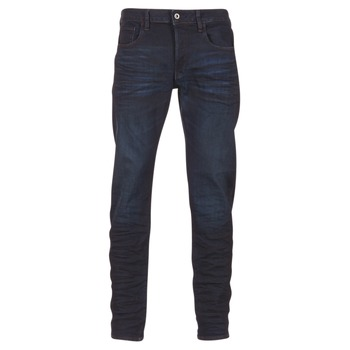 textil Hombre vaqueros rectos G-Star Raw 3301 DECONSTRUCTED SLIM Azul