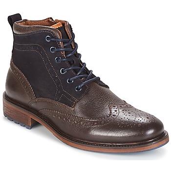 Zapatos Hombre Botas de caña baja Coxx Borba RESERVA Marrón / Marino